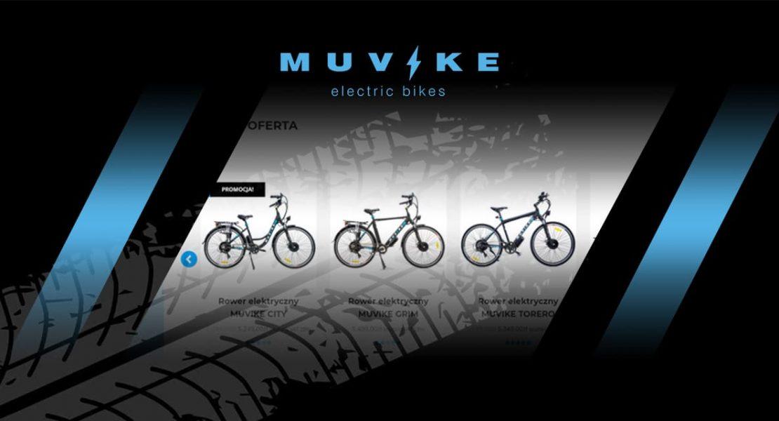 Informacje o rowerach elektrycznych miejskich MUVIKE